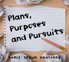 Plans, Purpose & Pursuits