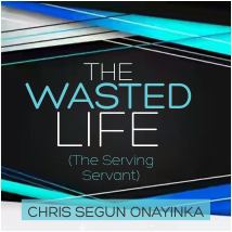 The Wasted life – The Serving Servant