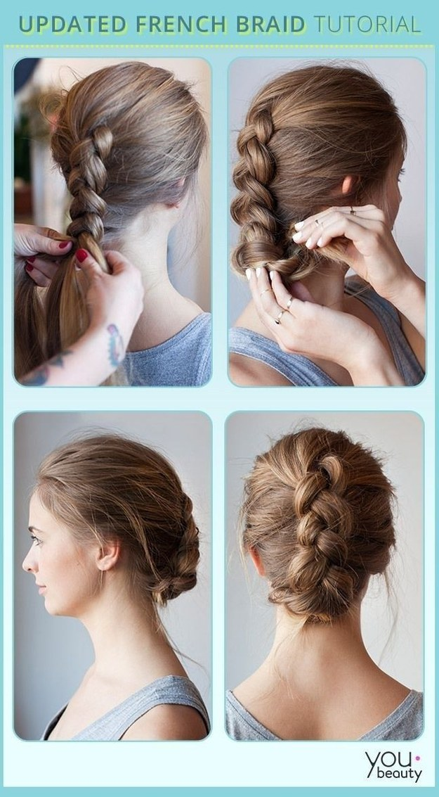 Terrific 16 Creative Braid Tutorials That Are Super Easy If You Can Tie Short Hairstyles Gunalazisus