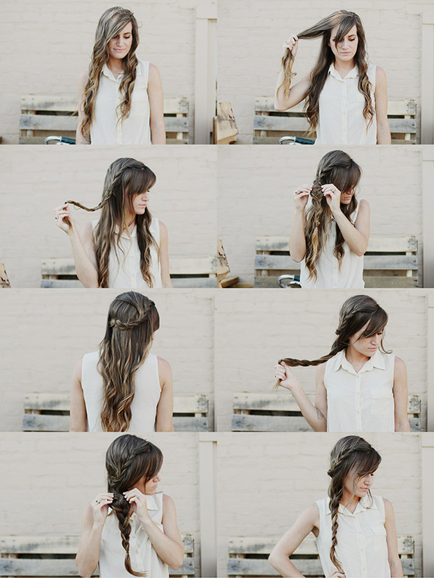 Astounding 16 Creative Braid Tutorials That Are Super Easy If You Can Tie Short Hairstyles Gunalazisus
