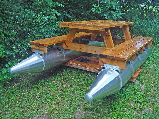 Small Boat Journal May Picnic Table Boat Plans Building - Picnic table boat for sale