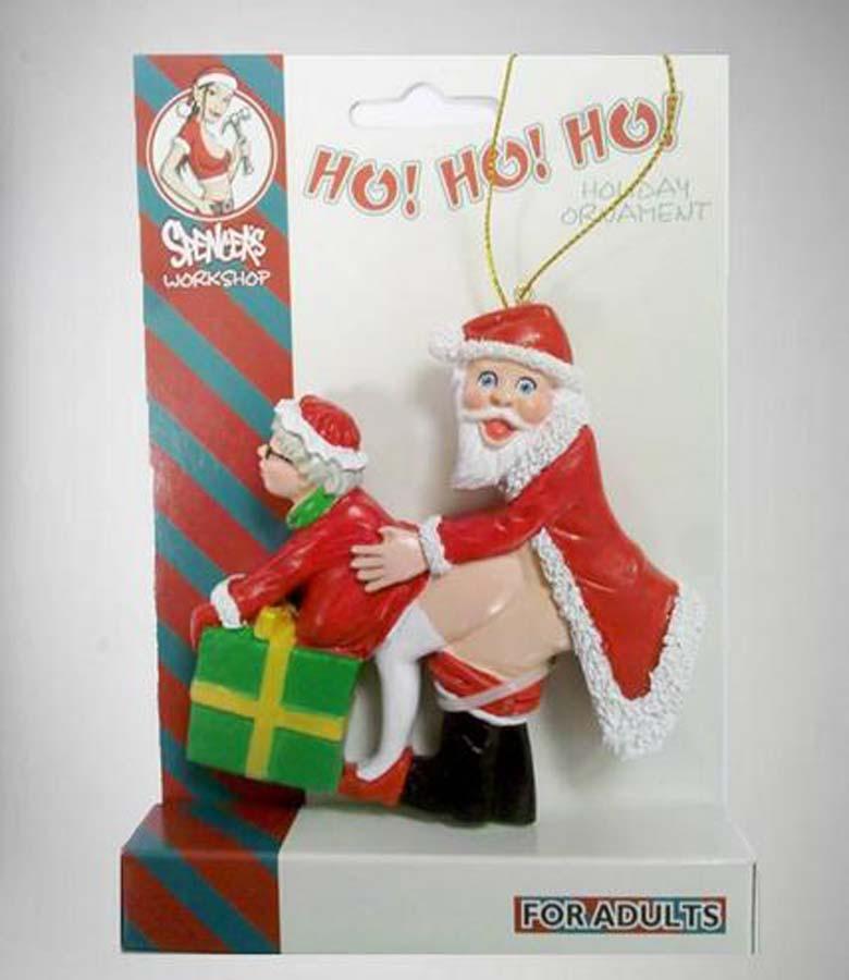 naughty christmas tree ornaments