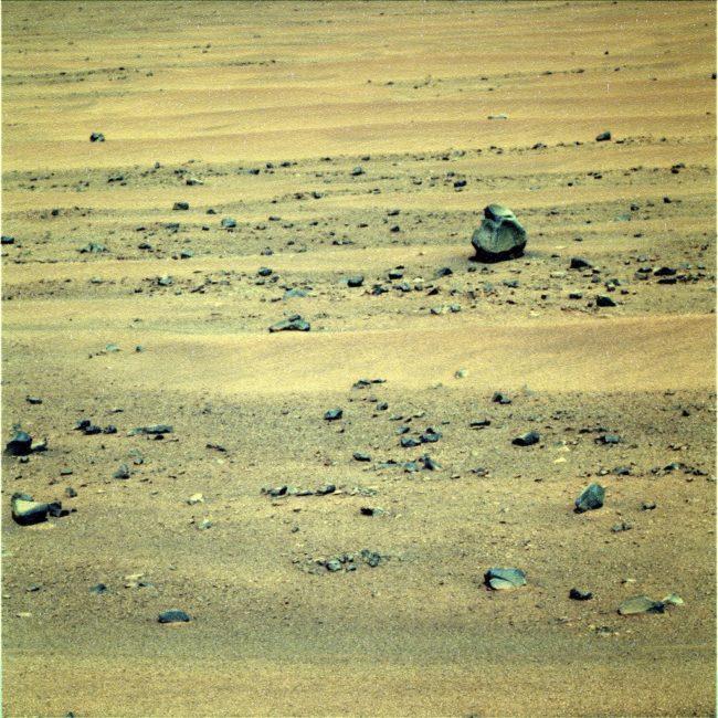 found on mars