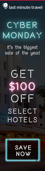 CYBER MONDAY -It's the biggest sale of the year! Get $100 select hotels. SAVE NOW