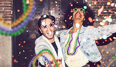 Save $30 on Hotels for Mardi Gras