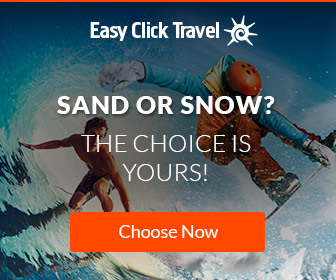 Sand or Snow? The choice is yours.  Use promo code WINTERFUN40 and get $40 off $450
