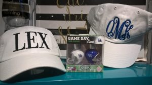 LEX & Monogram Hats - $18.99 Game Day Nail Polish - $16
