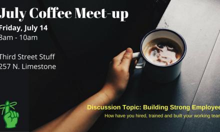 July 2017- Coffee Meet-up