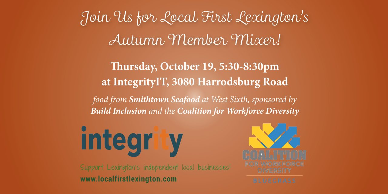 Autumn Member Mixer on October 19, 2017