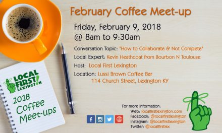 February Coffee Meet-up at Lussi Brown