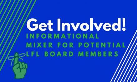 Mixer for Potential LFL Board Members