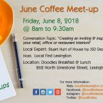 June 2018 Coffee Meetup at Doodles