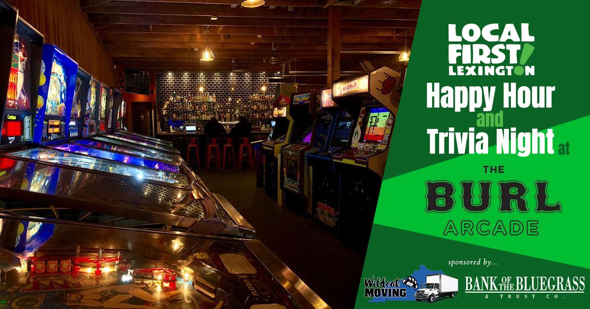 LFL Happy Hour and Team Trivia Night, Wednesday 6/26