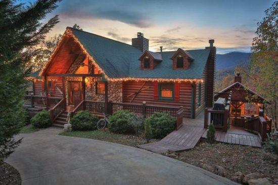 Blue Sky Cabin Rentals Dream A Little In Gilmer Blue