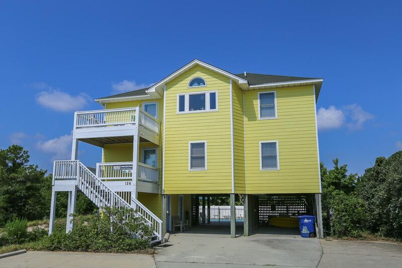Outer Banks Vacation Rentals - 0982 - YELLOW BEACH HOUSE