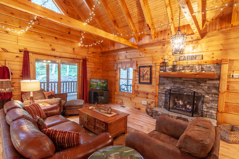 187 Carolina Cabin Rentals Sugar Cookie Cabin In Jefferson Nc