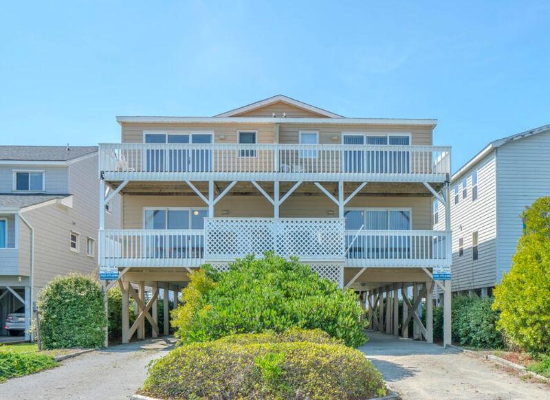 1316EM-A - Oceanfront Duplex - SB