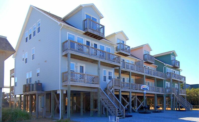 271W1- Oceanfront Quadplex