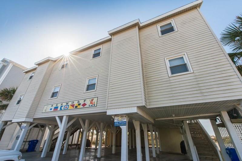 242E1-A Oceanfront Duplex