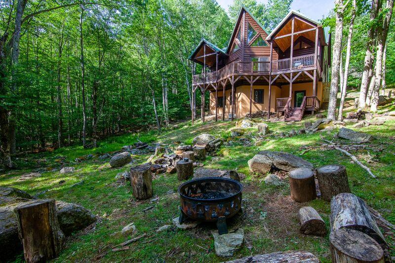 187 Carolina Cabin Rentals Bears Creek Lodge In Beech