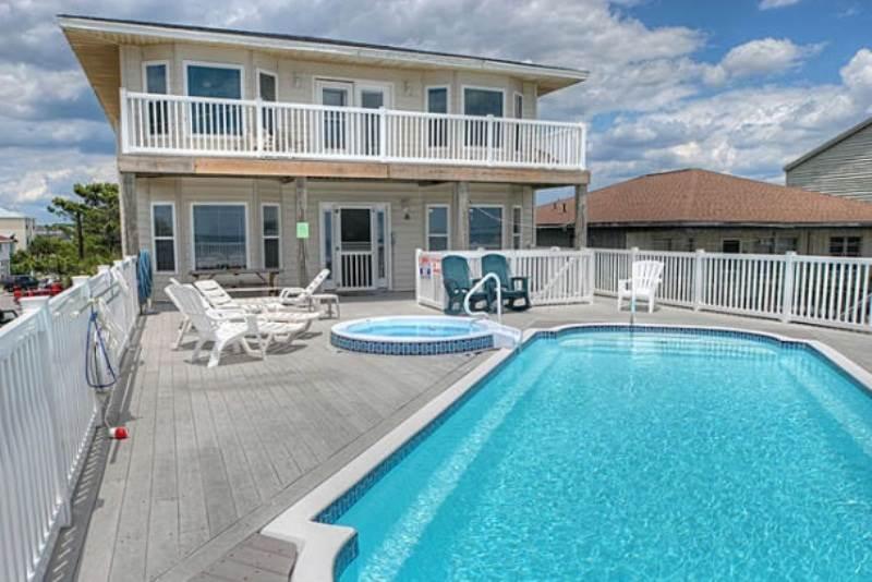 86E1-Oceanfront Home