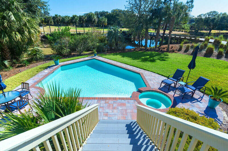 Coastal Vacation Rentals - Palmetto Dunes, Golf Course and Lagoon View, photo