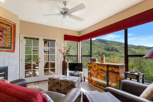 View at Ventana Canyon photo