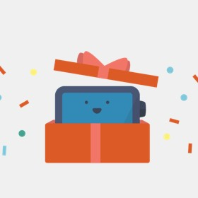 setting up loop as a gift
