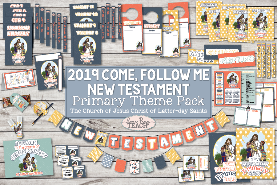 Come, Follow Me—For Primary: New Testament 2019