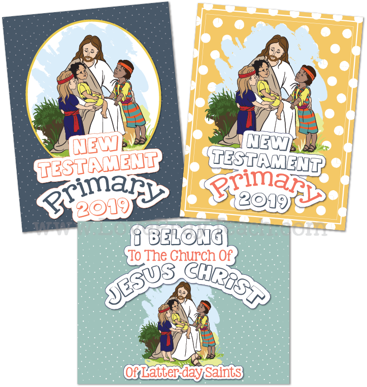 Come, Follow Me—For Primary: New Testament 2019 Download For Bulletin Board Pack