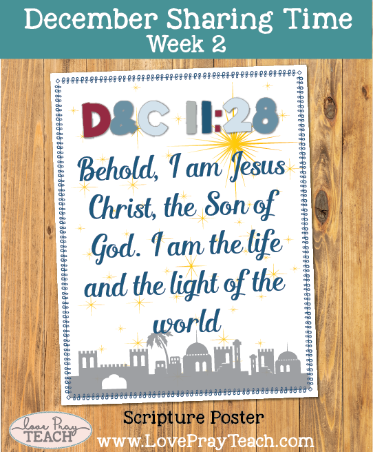 December 2017 Sharing Times Week 2: Jesus grew in wisdom and stature and in favor with God and man