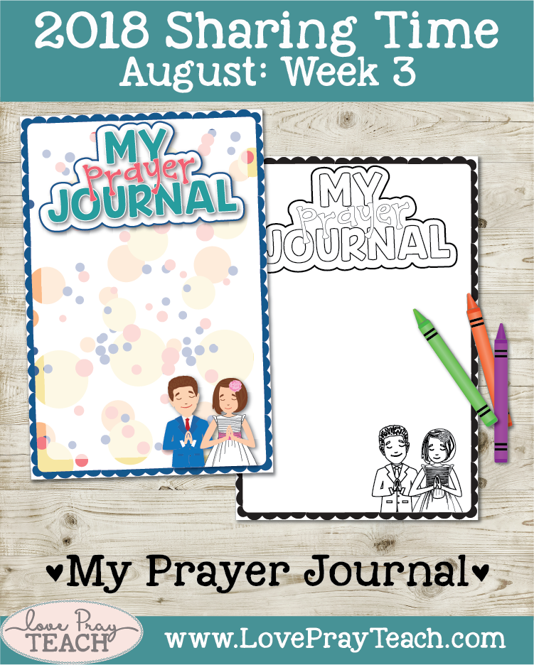 August 2018 Sharing Times Week 3: Answers to prayers come from Heavenly Father in many ways