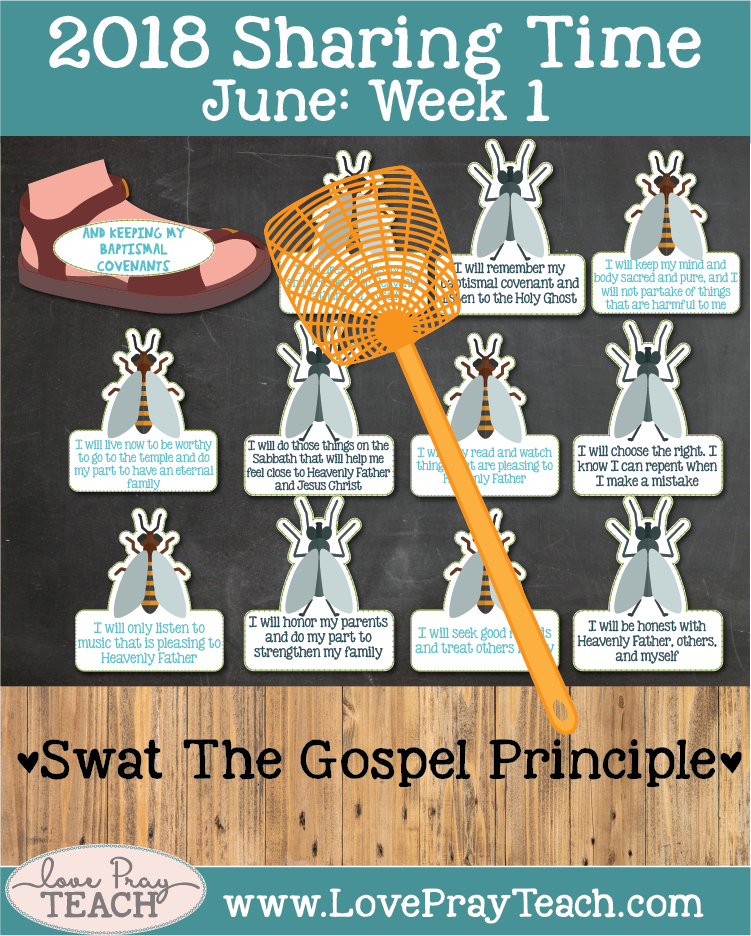 Lesson helps forJune 2018 Sharing Times Week 1: I will follow Jesus Christ by being baptized and confirmed and keeping my baptismal covenants