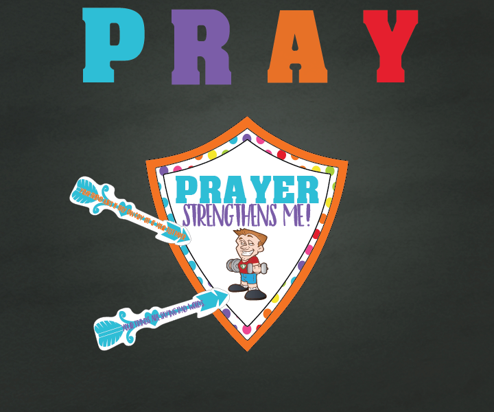 Individual lesson helps packet for June Sharing Time Week 1: I pray to Heavenly Father for strength to do what is right.