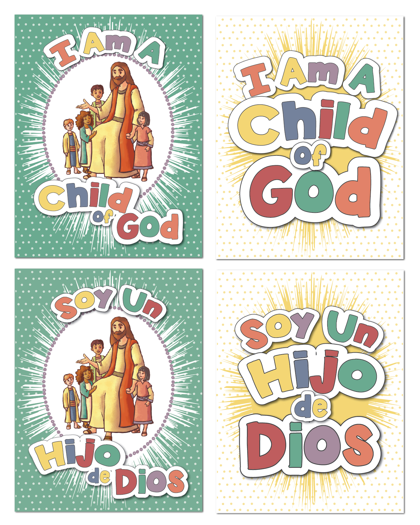 picture about I Am a Child of God Printable known as Cost-free 2018 Simple Topic \