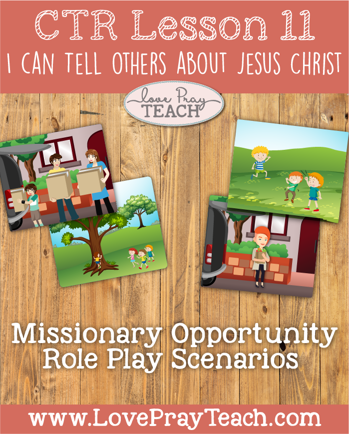 Primary 2 Ctr Lesson 11 I Can Tell Others About Jesus Christ