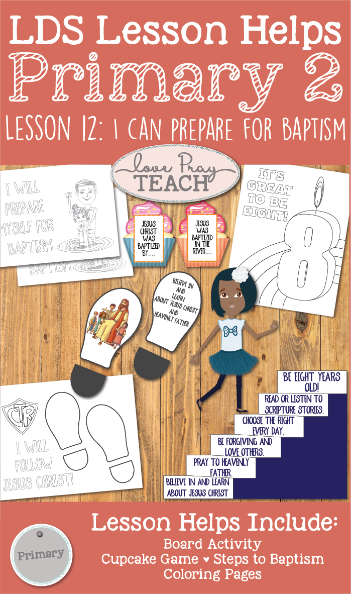 LDS Primary 2 CTR Lesson 12