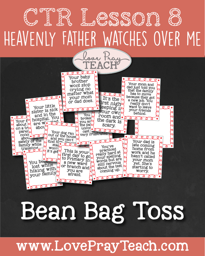 Primary 2 Ctr Lesson 8 Heavenly Father Watches Over Me