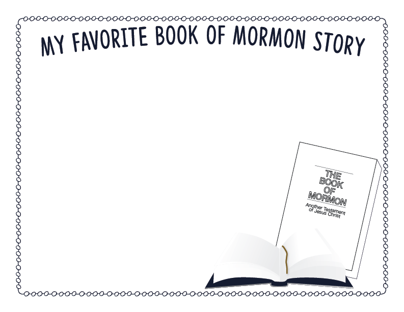 "Primary 3 CTR Chapter 15 Lesson Helps ""The Coming Forth of the Book of Mormon"""