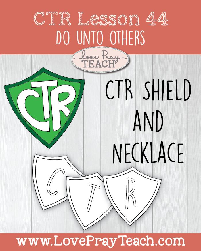 Primary 3 CTR Lesson 44: