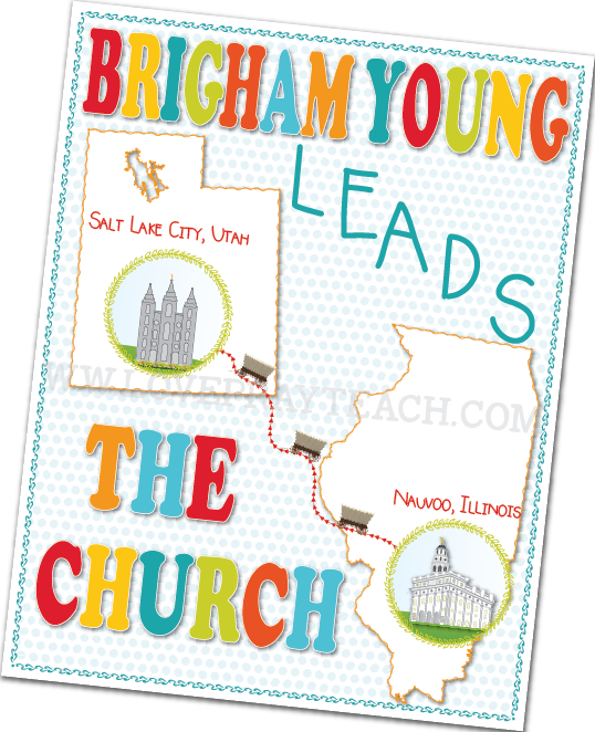 Primary 5 Lesson 38: Brigham Young Leads the Church