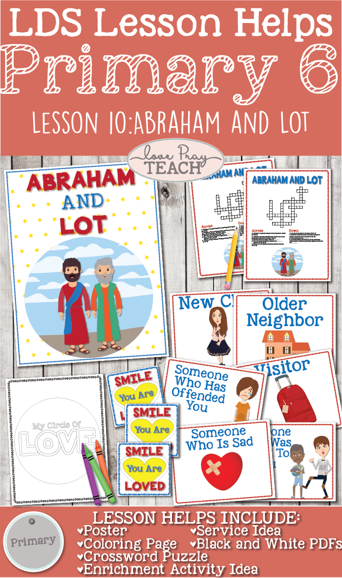 Primary 6 Lesson 10: Abraham and Lot