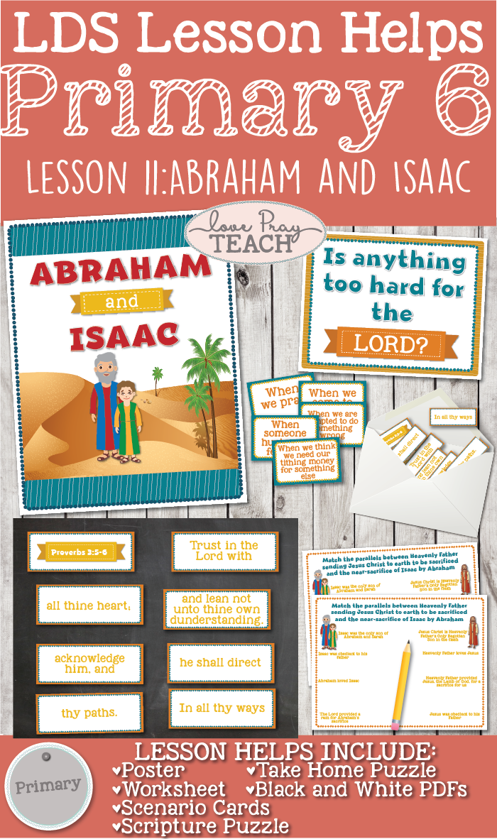 Primary 6 Lesson 11: Abraham and Isaac