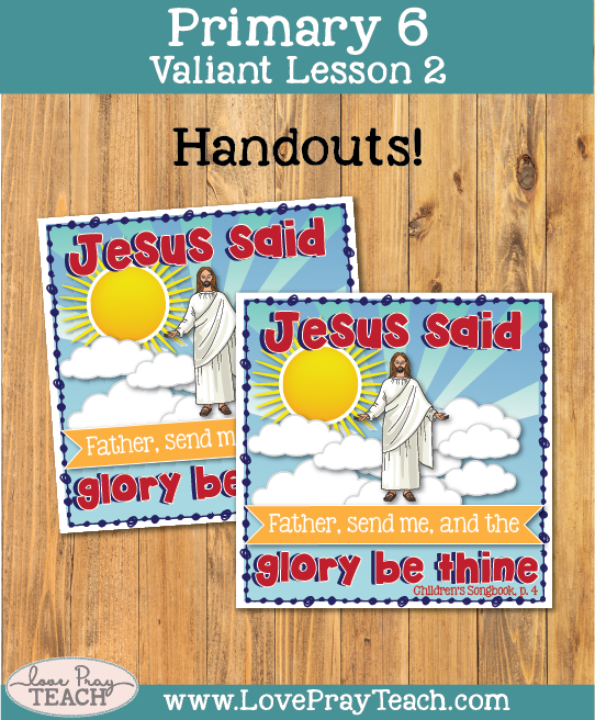 Primary 6 Lesson 2: Jesus Christ Was Chosen to Be Our Savior