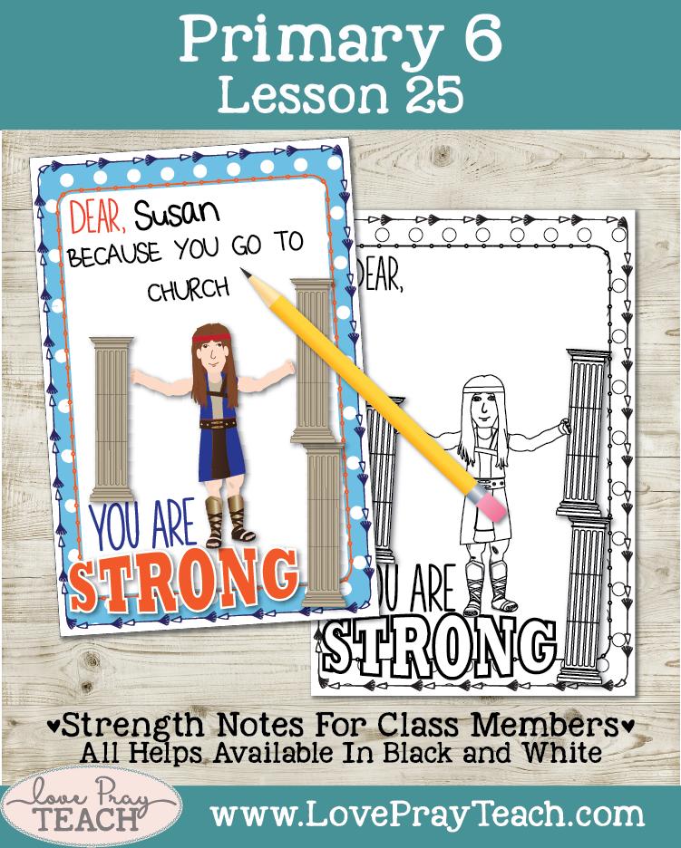 Primary 6 Lesson 25: Samson