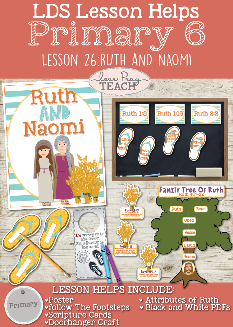 Primary 6 Lesson 26: Ruth and Naomi