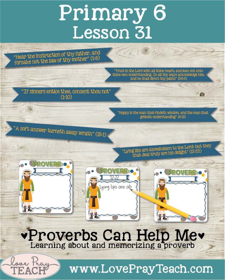 Lesson helps forPrimary 6 Lesson 31: The Wisdom of King Solomon