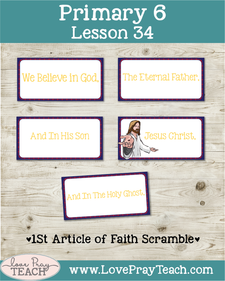 Primary 6 Lesson 34: Elijah and the False Prophets of Baal