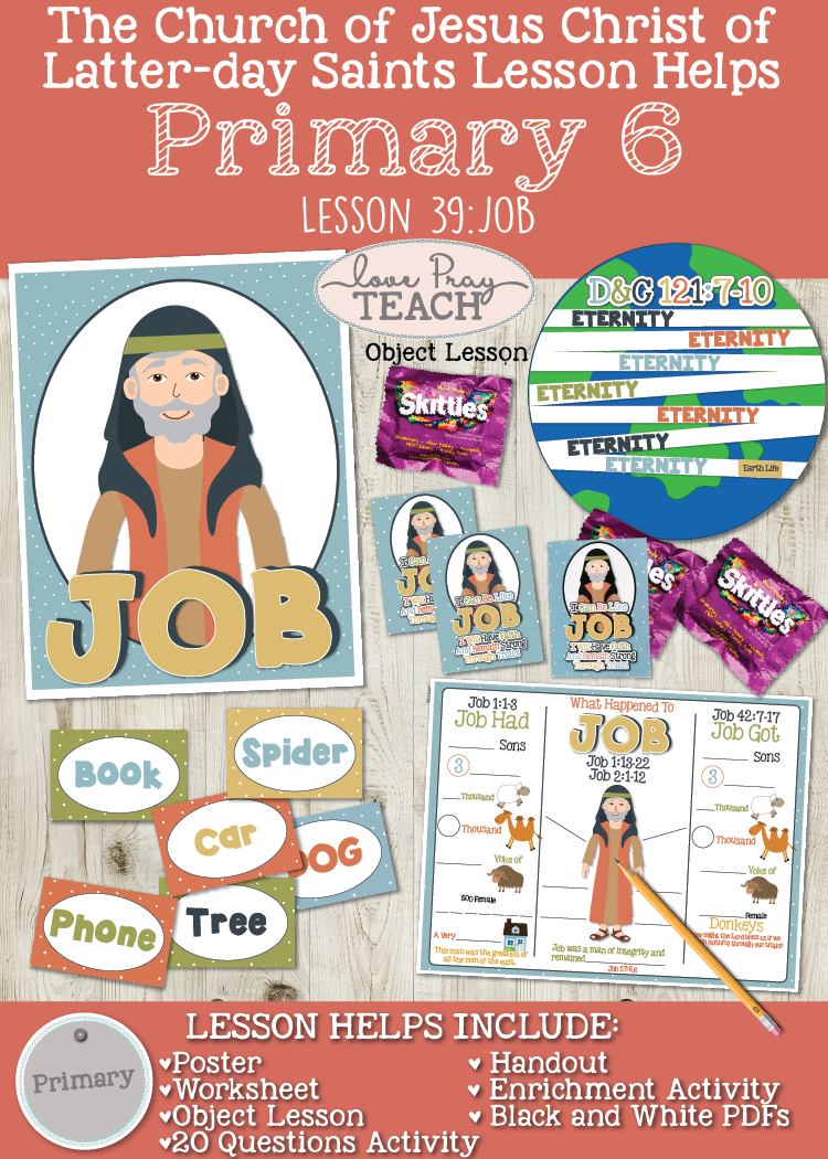 Primary 6 Lesson 39:Job. Job Bible Story