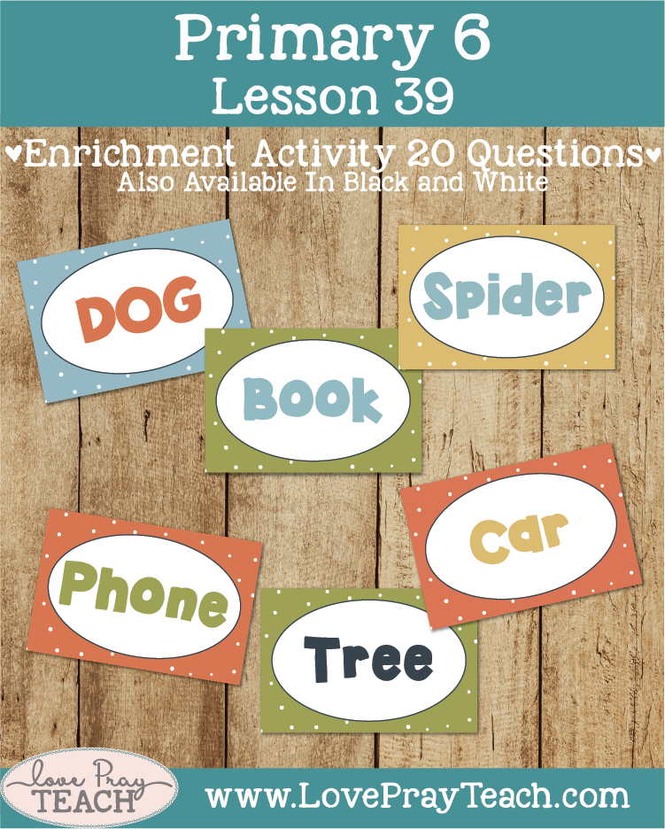 Primary 6 Lesson 39: Job. Job Bible Story